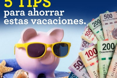 Diez consejos para ahorrar en vacaciones
