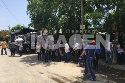 Lesionan a elemento de las Policía Estatal tras atender llamado de robo de urnas