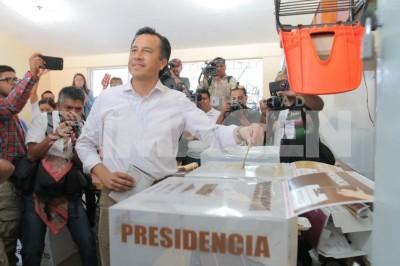 Cuitláhuac García Jiménez es el nuevo gobernador de Veracruz