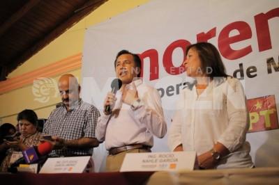 'Con actas en mano declararemos triunfo contundente de Cuitláhuac'