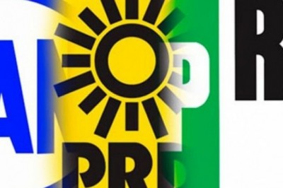 Derrumbe de los 3 grandes partidos que eran el PRI,PAN y PRD
