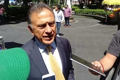 Yunes Linares no reconoce aún a Cuitláhuac como su sucesor al cargo de Gobernador