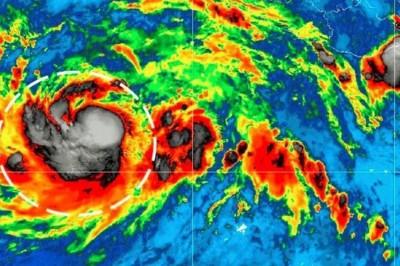 Tormenta tropical 'Fabio' se fortalece en el Pacífico mexicano