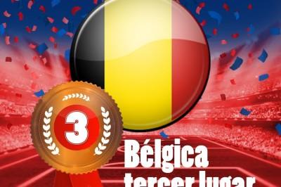 Bélgica gana el tercer lugar del Mundial