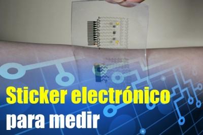 Conoce el sticker electrónico para medir los rayos UV