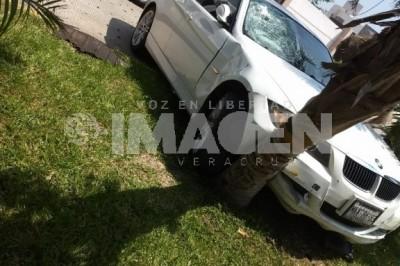 Empleado de fiscalia atropella a dos niños