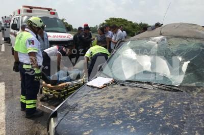 Una mujer muere en accidente en la autopista Isla-Cosamaloapan