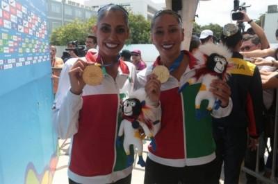 México gana otro oro en nado sincronizado