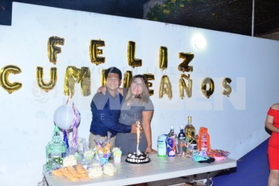 SORPRESA POR SU CUMPLE: Atenea Barrán Cornelio celebra cumpleaños