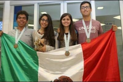 Mexicanos obtienen bronce en Olimpiada Internacional de Química
