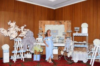 ENTREGA DE PARÍS: Idanelly Villa de Del Río disfruta baby shower