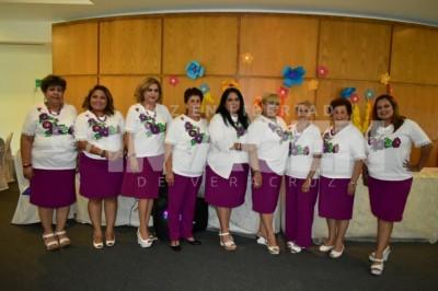 DESAYUNO HAWAIANO: Socias de la UFIA realizan tradicional y concurrida reunión