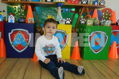 Llega La Patrulla Canina :Aarón Cárdenas Salim festeja segundo cumpleaños