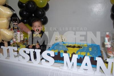 CABALLERO DE LA NOCHE: Jesús Manuel Veloz Fernández cumple un año de vida