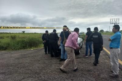 Hallan cuerpo de un hombre con signos de tortura en la Minatitlán - Coatzacoalcos