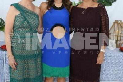 CAMINO AL ALTAR:Daniela Díaz Cobo protagoniza despedida de soltera