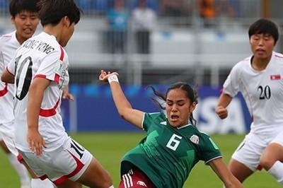 Tri Femenil Sub-20 pone en peligro su clasificación tras perder vs Corea