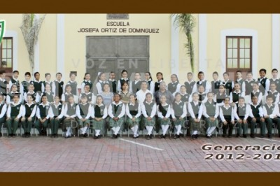 CONCLUYEN CICLO ESCOLAR: Egresan alumnos de la Primaria Josefa Ortiz de Domínguez