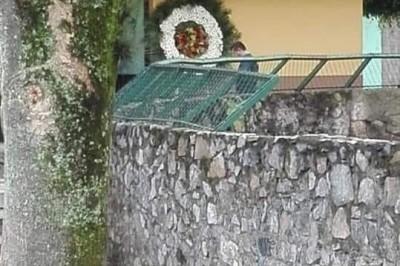 Preocupa a autoridades coronas mortuorias que dejaron con nombres de mandos policiacos