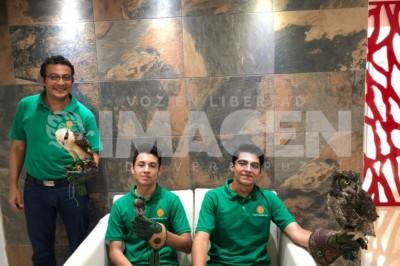 EN CONFIANZA con Luis Ángel Vela Delgado, director general del Eco Parque 'Yolihuani'.