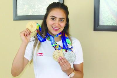 Gimnasta porteña fue medallista en los Juegos Centroamericanos y del Caribe