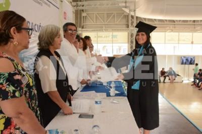 EGRESA 3RA GENERACIÓN DE CETMAR BOCA DEL RÍO:  Concluyen bachillerato 153 alumnos de cinco carreras