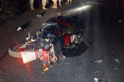 Un muerto y dos heridos dejó un trágico accidente de motos en Tierra Blanca