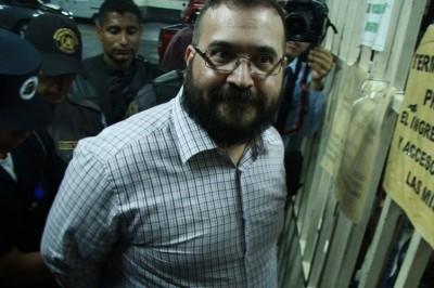 Retira PGR denuncia contra Javier Duarte por delincuencia organizada
