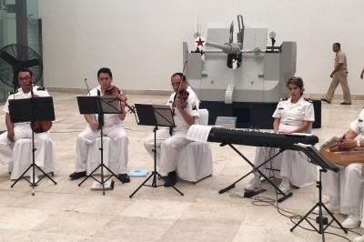 Ofrecen concierto en el Museo Naval