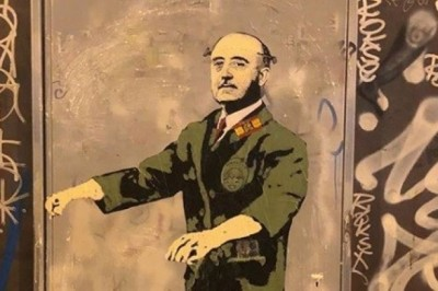Realiza graffiti a tamaño real