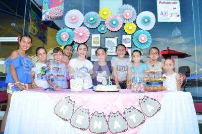 FESTEJO SOBRE RUEDAS : Renata García Panayeta cumple 8 años de vida