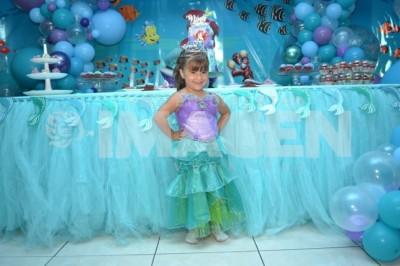 BAJO DEL MAR: Nina Mier Mantecón cumple 4 años de vida