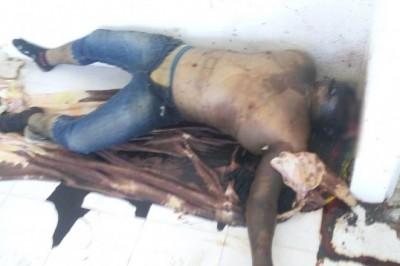 Un cadáver putrefacto fue hallado en el interior de una casa abandonada en el fraccionamiento Geo Los Pinos