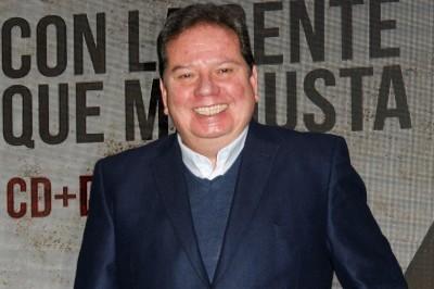 Jorge 'El Coque' Muñiz se alista para presentarse el 12 de octubre en el Lunario del Auditorio Nacional.
