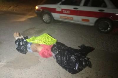 El cuerpo de un hombre con múltiples y graves huellas de tortura, fue encontrado  sobre la carretera estatal  de Tuxpan