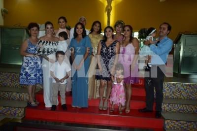 DEBUT EN SOCIEDAD: María José Rodríguez Casarín disfruta fiesta de XV años