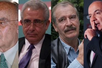 Avalan quitar pensión a expresidentes
