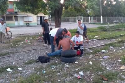 Atacan a Machetazos a Hondureño En Tierra Blanca, Veracruz