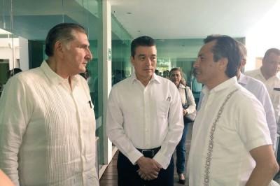 Veracruz, Tabasco y Chiapas, de la mano contra la pobreza: Cuitláhuac