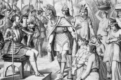 Desmitifica la figura del conquistador