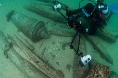 Descubren barco hundido