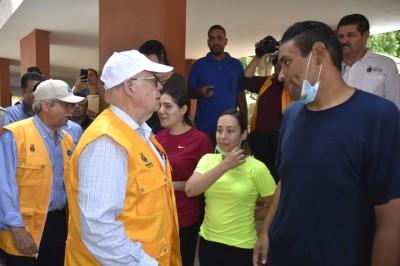 Narro Robles supervisa acciones del operativo en salud en Sinaloa