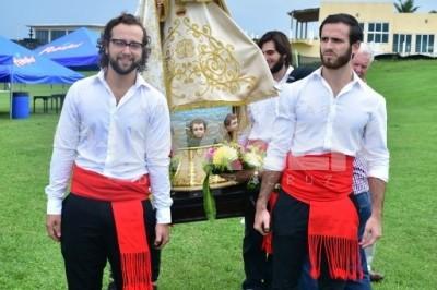 FIESTA DE LA SANTINA: Socios del Círculo Español de Veracruz celebran a la Virgen de Covadonga