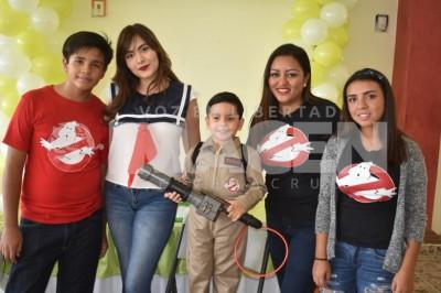 GHOSTBUSTERS!: Erick Pavo Zavala cumple cinco años de edad
