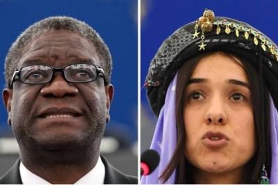 Ganan Murad y Mukwege Nobel de la Paz por luchar contra la violencia