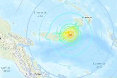 Sismo de magnitud 7 sacude Nueva Guinea