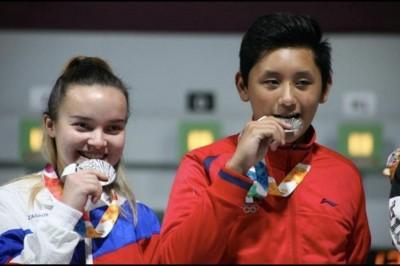 Edson Ramírez, plata en equipo mixto en Juegos de la Juventud