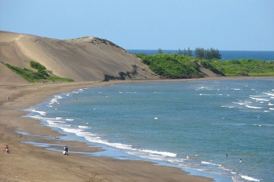 Playa Chalchihuecan, en completo abandono