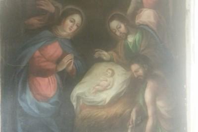 Recuperan pinturas consideradas monumentos históricos