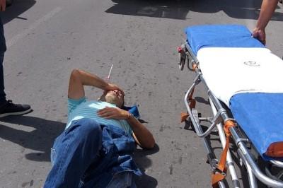 Atropella motociclista  a hombre que intentaba cruzar la avenida en la Colonia Zaragoza